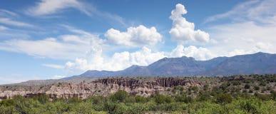 Gila Wilderness View em New mexico do sudoeste fotografia de stock royalty free