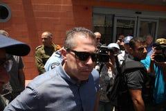 Gilad Erdan, miembro del Knesset para Likud y el ministro de la seguridad pública Fotos de archivo
