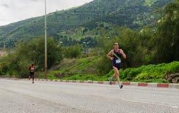 Gilad Rotem马拉松运动员 图库摄影