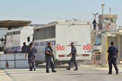 Gilad Shalit Abkommen Stockbild