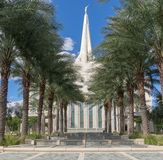 He Gilbert Arizona Temple is a temple of The Church of Jesus Christ of Latter-day Saints LDS Church stock photo