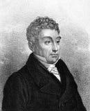 Gilbert du Motier marquis de Lafayette Stock Image