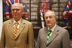 Gilbert et George Photographie stock