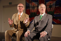 Gilbert et George Images stock