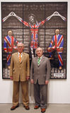 Gilbert et George Photo stock