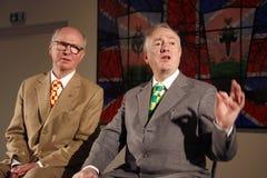 Gilbert et George Photographie stock libre de droits