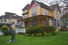 Gilbert House Children`s Museum in Salem, OR. The Gilbert House Children`s Museum is an interactive children`s museum located in Salem, Oregon, United States Stock Image