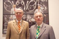 Gilbert und George Stockfotografie