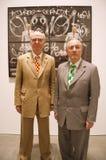 Gilbert und George Stockfoto