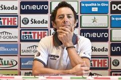 Gilberto Simoni Giro d'Italia Royalty Free Stock Photo
