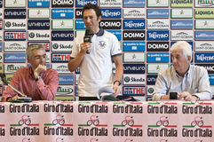 Gilberto Simoni, Pietro Gottardi, Remo Mosna Stock Photo