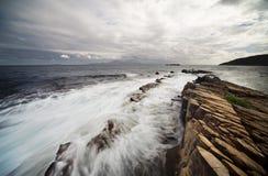 Gilbraltar Strait Stock Image