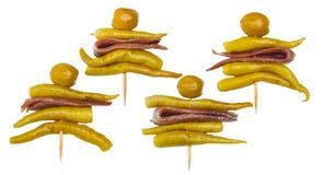 Gilda, pincho spagnolo tipico fotografia stock