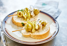 Gilda pintxo Stock Photography