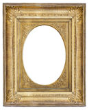 gilded antique frame with vignette Royalty Free Stock Image
