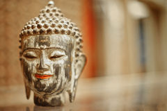 Gilded Buddha head souvenir Royalty Free Stock Photography