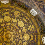 Gilded ceiling Stock Photography
