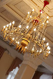 Gilded chandelier Royalty Free Stock Photo