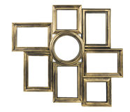 Gilded decorative photo frame Royalty Free Stock Photos