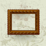 Gilded frame Royalty Free Stock Photography