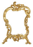Gilded frame for a mirror Stock Photography