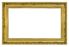 Gilded frame with thick border Royalty Free Stock Photography