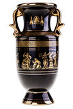 Gilded greek vase Royalty Free Stock Photos