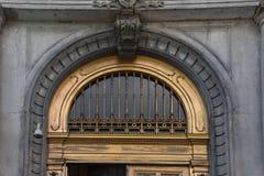 Free Gilded Metalwork Arch Transom Doorway Stock Photos - 97329683