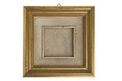 Gilded picture frame Stock Photos