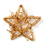 Gilded star Stock Photos