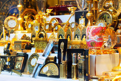 Gilded toledo souvenirs Royalty Free Stock Photo