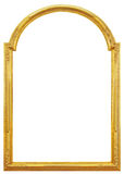 The gilded wooden frame Stock Photo