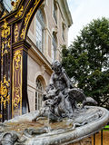 Gilden decorative sculpture on the central square of Nancy. France royalty free stock image