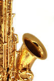 Gilden Sax Close Up Royalty Free Stock Photo
