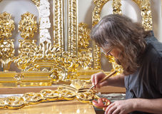 Gilding Stock Photo