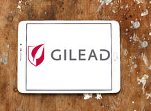 Gilead biopharmaceutical company logo Stock Image