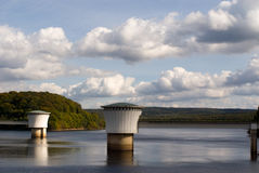 Gileppe Dam Royalty Free Stock Image
