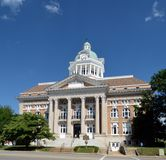 Giles County Courthouse Arkivbilder