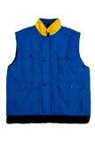 Gilet bleu photographie stock