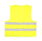 Gilet jaune de délivrance Photos stock
