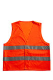 Gilet orange Photo libre de droits