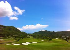 Golf. Sport golf nature Stock Photo