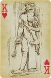 Gilgamesh illustration stock