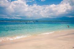 Gili海岛海滩 库存照片