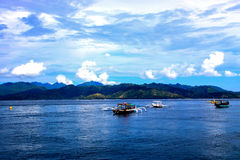 Gili海岛,印度尼西亚 免版税库存图片