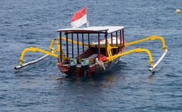 Gili海岛,龙目岛印度尼西亚 库存照片