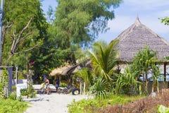 GILI-ÖAR, INDONESIEN - MARS 22: Gili öar är små tropiska öar Royaltyfria Foton