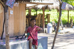GILI-ÖAR, INDONESIEN - MARS 22: Gili öar är små tropiska öar Royaltyfri Fotografi