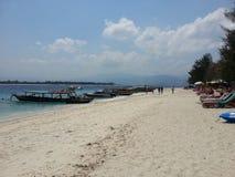 gili пляжа trawangan Стоковая Фотография RF