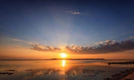 Gili Air Sunset Imágenes de archivo libres de regalías